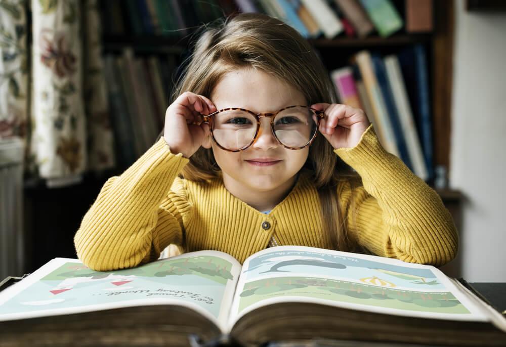 το σοφό παιδί βιβλίο γυαλιά