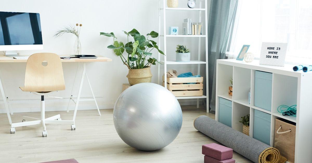 γυμναστική στο σπίτι χώρος