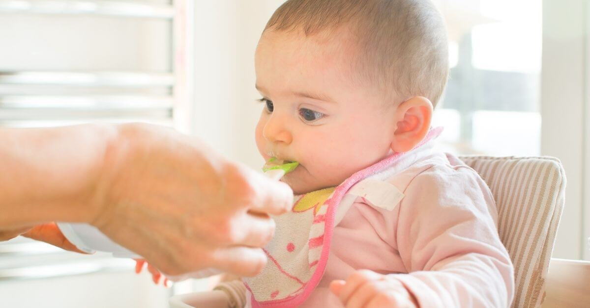 απογαλακτισμός μωρού τροφές