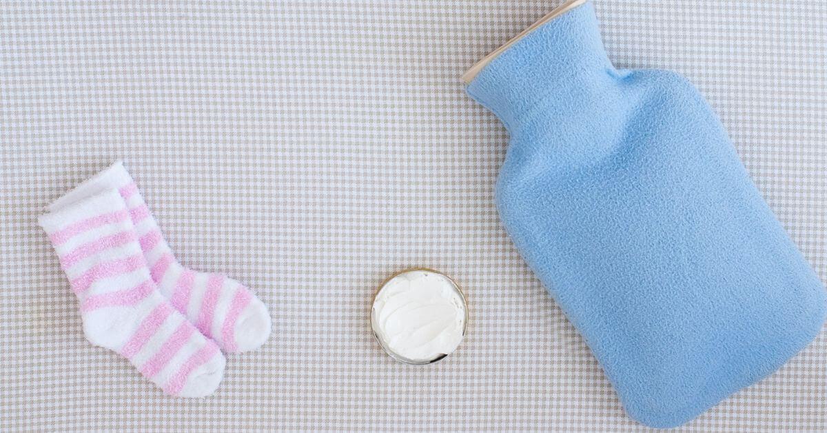 Κολικοί μωρού; Παιδική θερμοφόρα νερού Sanger