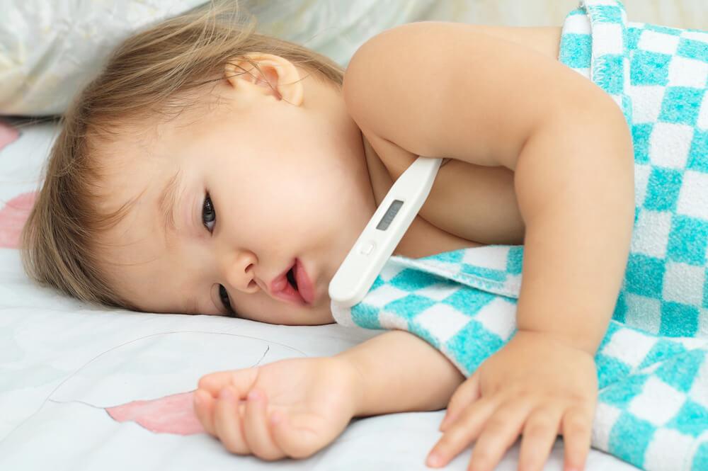 πυρετός στα μωρά